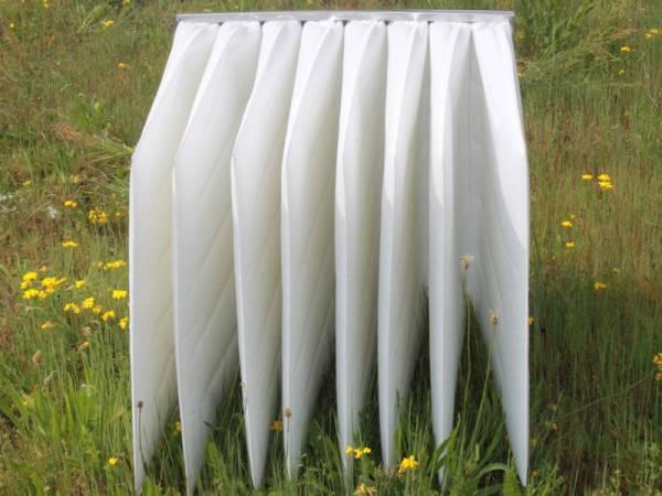 filtro a tasca per filtrazione aria