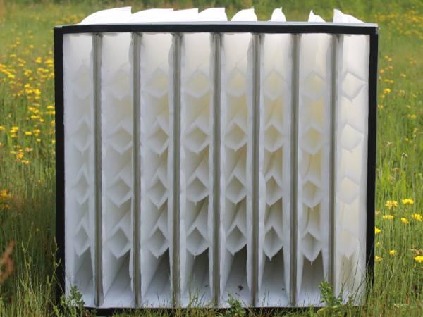 filtro a tasca per impianti di climatizzazione