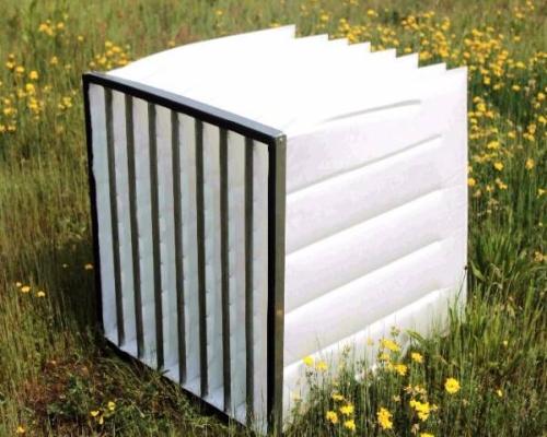 filtro a tasca per impianti di ventilazione
