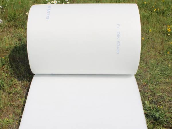 filtro per impianto di aerazione in carrozzeria