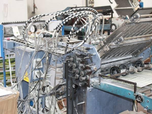 particolare macchinario per stampa